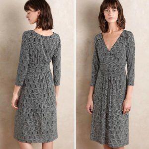 MAEVE Galena 3/4 Sleeve Midi Dress